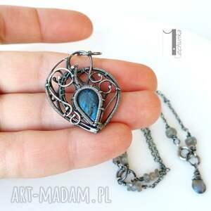 naszyjniki blue bird - srebrny naszyjnik