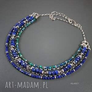 hand made naszyjniki lapis bogaty naszyjnik z lazuli
