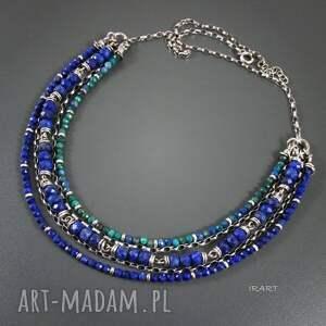 naszyjniki lazuli bogaty naszyjnik z lapis
