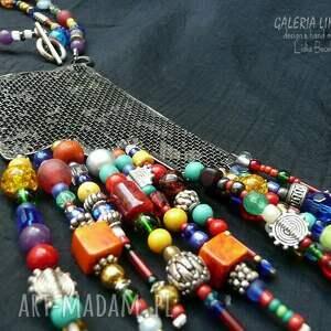 kolorowe naszyjniki boho boho. dla miłośniczki stylu