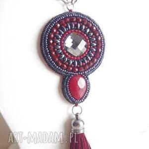 Bagatella naszyjniki: - Ręcznie robione haft