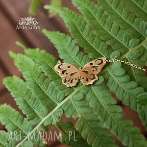 zawieszka butterfly in gold
