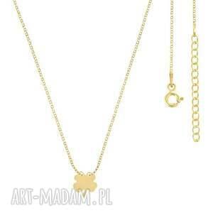 niepowtarzalne naszyjniki naszyjnik celebrate - clover necklace g