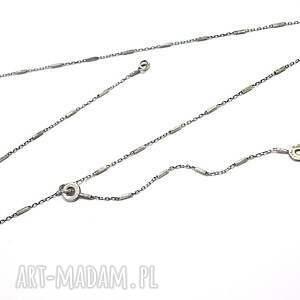 awangardowe naszyjniki srebro chain - naszyjnik