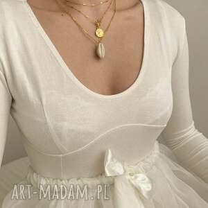 handmade naszyjniki naszyjnik choker łańcuszkowy z różowego złota