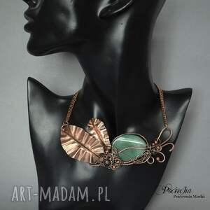 ręczne wykonanie naszyjniki tropik creation necklace - naszyjnik