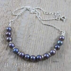 ręczne wykonanie naszyjniki perły delikatny naszyjnik