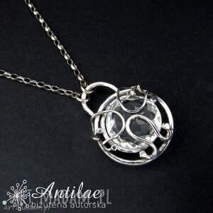 górski naszyjniki delikatny naszyjnik z kryształem