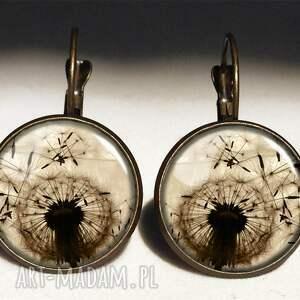 naszyjniki medalion dmuchawiec - z łańcuszkiem