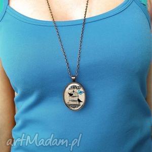 niebanalne naszyjniki drzewo gondoru - owalny medalion
