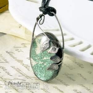 handmade naszyjniki terrarium fairy - naszyjnik z wisiorem