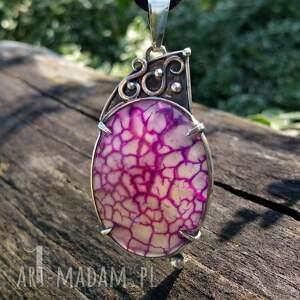 naszyjniki perły flare srebrny naszyjnik z agatem