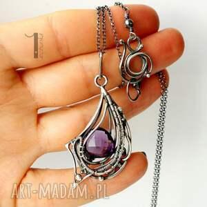 naszyjniki ekskluzywny folium - srebrny naszyjnik