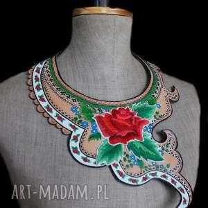 niepowtarzalne naszyjniki haft folk design - biżuteria ediedy