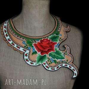zielone naszyjniki folk design - biżuteria ediedy