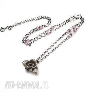 naszyjniki srebro oksydowane garden roses vol. 4 - naszyjnik