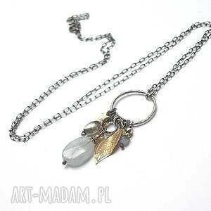 złote naszyjniki srebro gołębi - naszyjnik