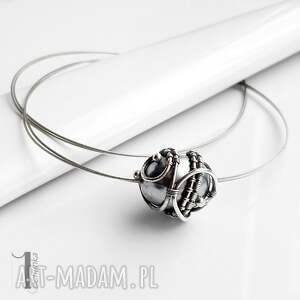 naszyjniki naszyjnik graphite ii - srebrny