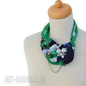 wielobarwny naszyjniki green light naszyjnik handmade