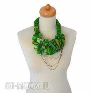 OHEVE HandmadeDesign green way naszyjnik handmade - zielony kolia