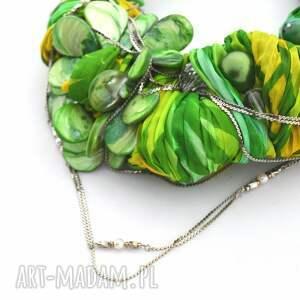 handmade naszyjniki naszyjnik green way