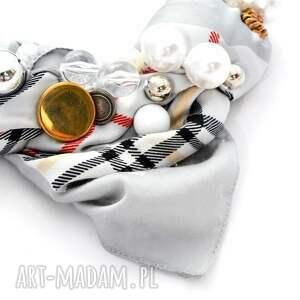 ciekawe naszyjniki naszyjnik grey s handmade