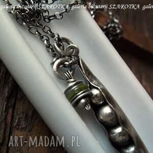 zielone naszyjniki oliwin groszkowy naszyjnik z peridotu