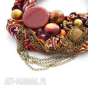 intrygujące naszyjniki naszyjnik gypsy handmade