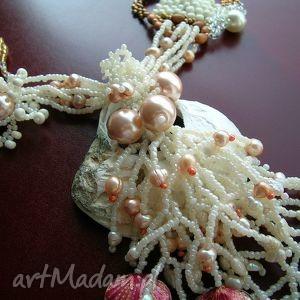muszle naszyjniki morskie opowieści - kolia