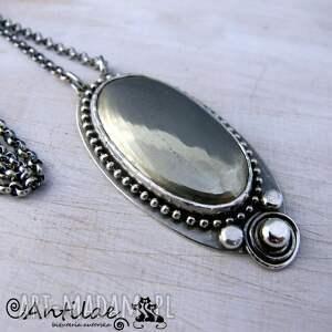 naszynik naszyjniki igolide - piryt, srebro, naszyjnik