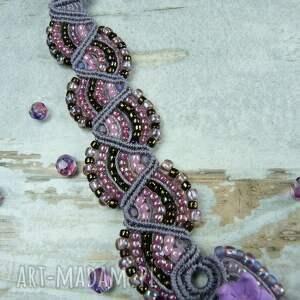 naszyjniki ametryn kobiecy naszyjnik z kamieniem