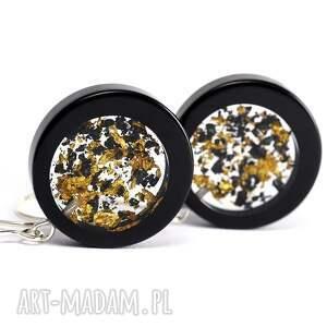 złote naszyjniki płatki-złota kolczyki z płatkami złota