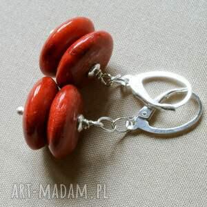 krótki naszyjnik naszyjniki z korala, agatu