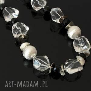 oryginalne naszyjniki kryształ górski kryształowy naszyjnik
