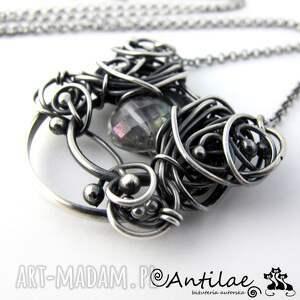 naszyjniki naszyjnik pereti - kwarc mistyczny, srebro