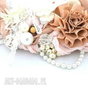 hand-made naszyjniki naszyjnik kwiat pustyni handmade