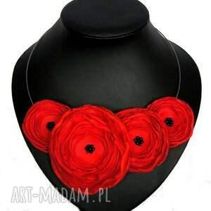 prezenty święta kwiaty kwiatowy naszyjnik