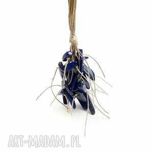 ręczne wykonanie naszyjniki kobaltowy wygodny, lekki, naturalny: długi naszyjnik