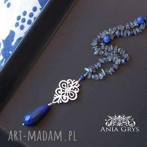 Anna Grys naszyjniki lapis lazuli