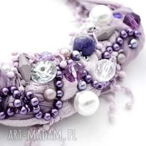 intrygujące naszyjniki naszyjnik lilla handmade