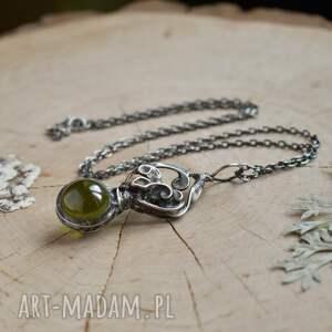 naszyjniki naszyjnik wisior magic - z kulą