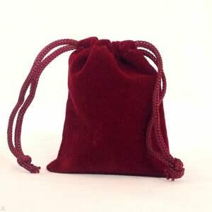 owalny naszyjniki czerwone maki - medalion z