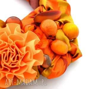 naszyjniki naszyjnik mandarin handmade