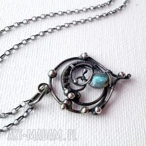 handmade naszyjniki misterny marzyciel - moon