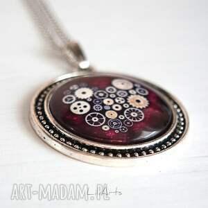 ręcznie wykonane naszyjniki naszyjnik medalion, serce