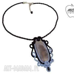 niebieskie naszyjniki naszyjnik ~mela stone~ wisior
