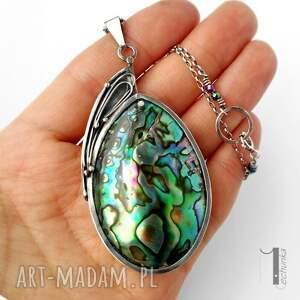 minimalistycznu naszyjniki mermaid heart srebrny naszyjnik