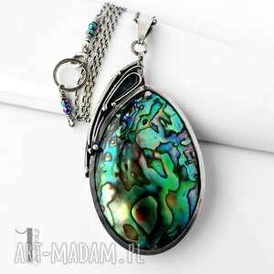 srebrne naszyjniki srebro mermaid heart srebrny naszyjnik