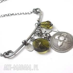 ręcznie robione naszyjniki srebro military vol. 5 -naszyjnik