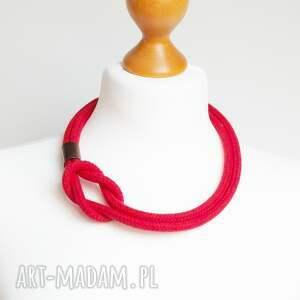 naszyjniki lina minimalistyczny naszyjnik z liny